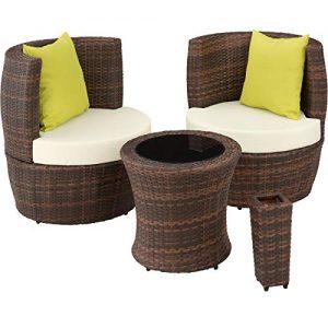 Polyrattan Sessel 2er Set | Gartensessel 2 Personen online
